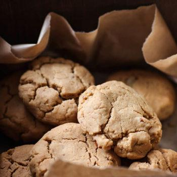 Peanut Butter and Tahini Cookies