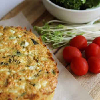 Courgette and Sun-dried Tomato Frittata