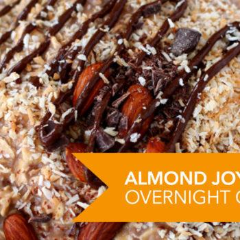 Almond Joy Protein Overnight Oatmeal