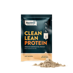 Clean Lean Protein Sachet, Just natural, Organic Pea Protein