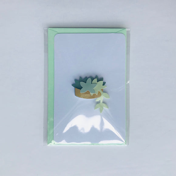 3D Plant Greeting Cards