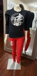 Long Sleeve Body By Nicole Crew Neck Tees
