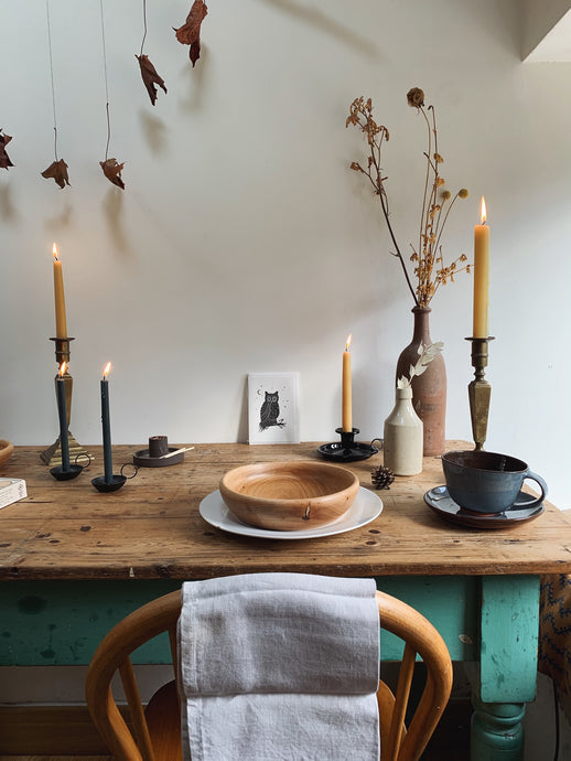 CREATING CALM USING FORAGED AND SEASONAL FINDS