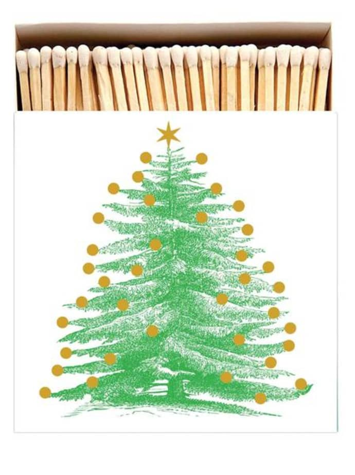 BOX OF MATCHES - CHRISTMAS TREE