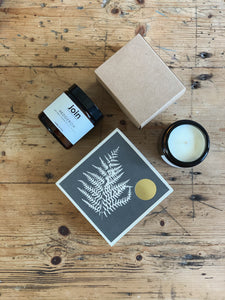 SOY WAX CANDLE AND MATCHES GIFT BOX - A MOMENT OF CALM