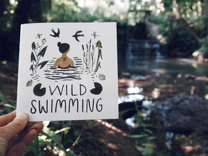 Wild swimming book for beginners.