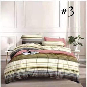 4 in1 Elegant Printed Bed Sheets
