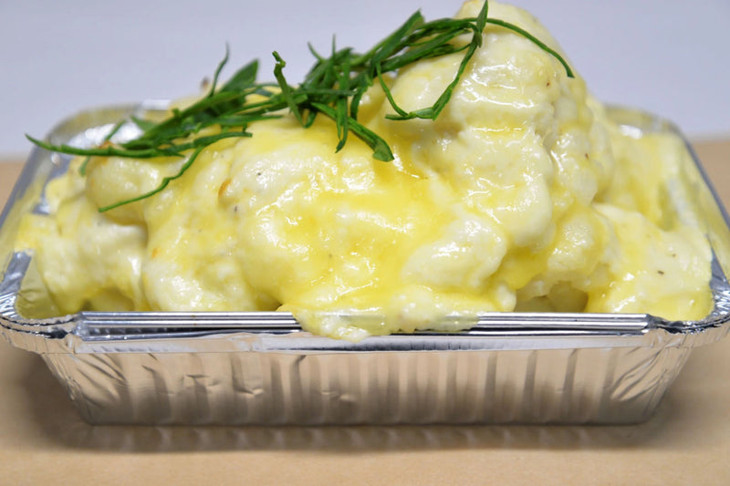 Cheesy Cauliflower Mornay