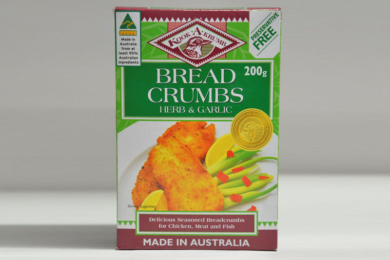 Herb & Garlic Bread crumbs