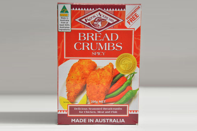 Spicy Bread Crumbs