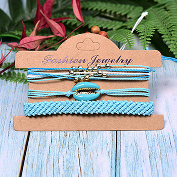 Shell Love It Bracelets - Teal