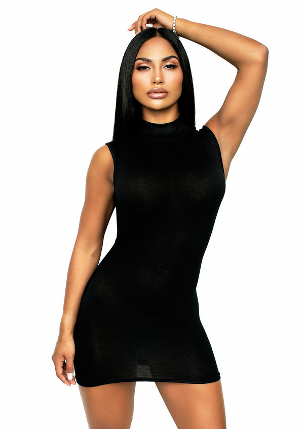KASSIDI TURTLENECK DRESS