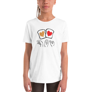 Peanut Butter & Jelly / ASL Finger Spelling: YOUTH T-SHIRT