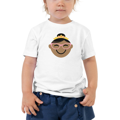 Spectacular Spectacles! TODDLER T-SHIRT | brown/pink