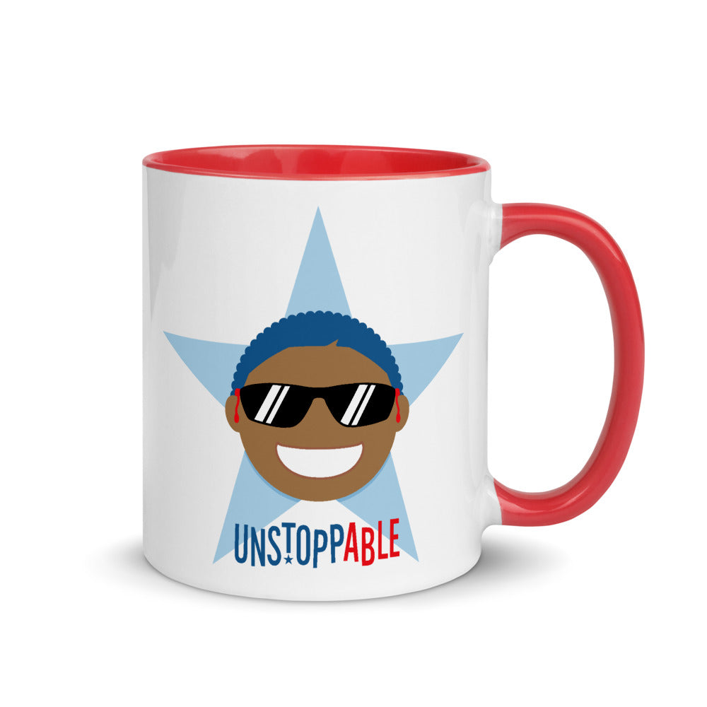 Unstoppable Star with Hearing Aids: MUG | red/boy
