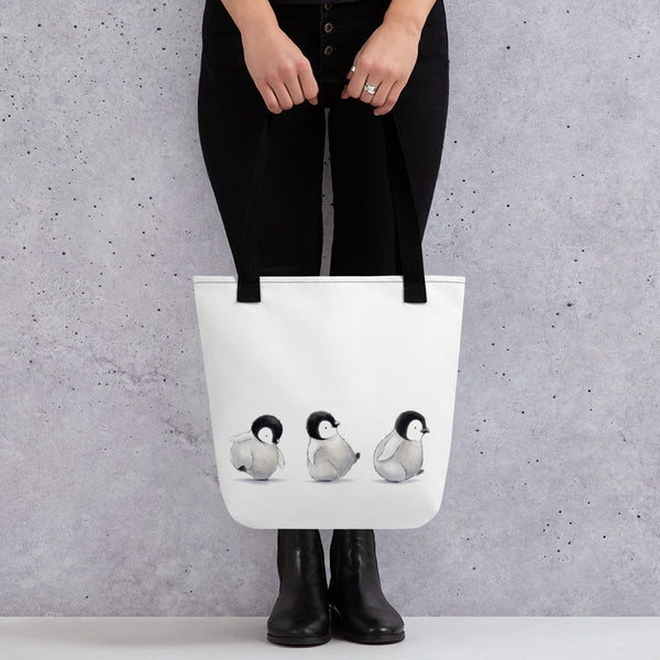 Winter Wonder Series | Tote Bag | Penguin Parade