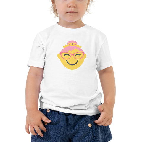 Spectacular Spectacles! TODDLER T-SHIRT | yellow/pink