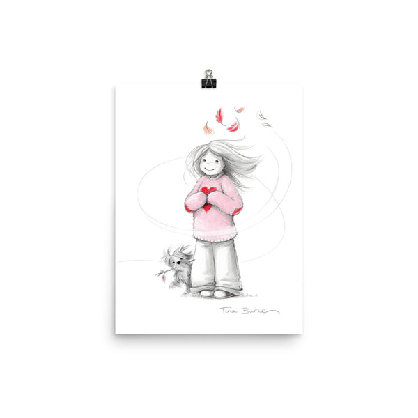 Sweater Weather series | Art Print | Windswept