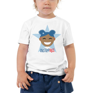 Unstoppable Star with Hearing Aids | TODDLER T-SHIRT | girl