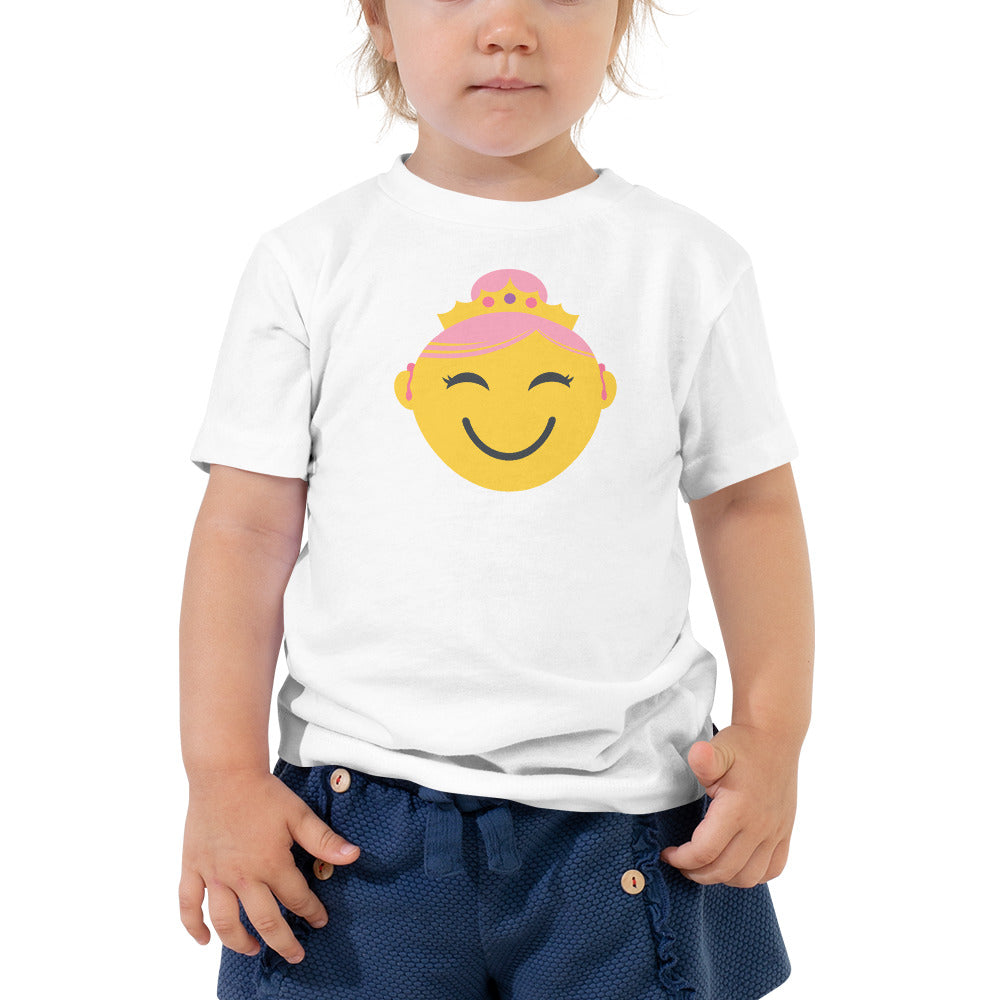 Princess with Hearing Aids | TODDLER T-SHIRT | girl/yellow
