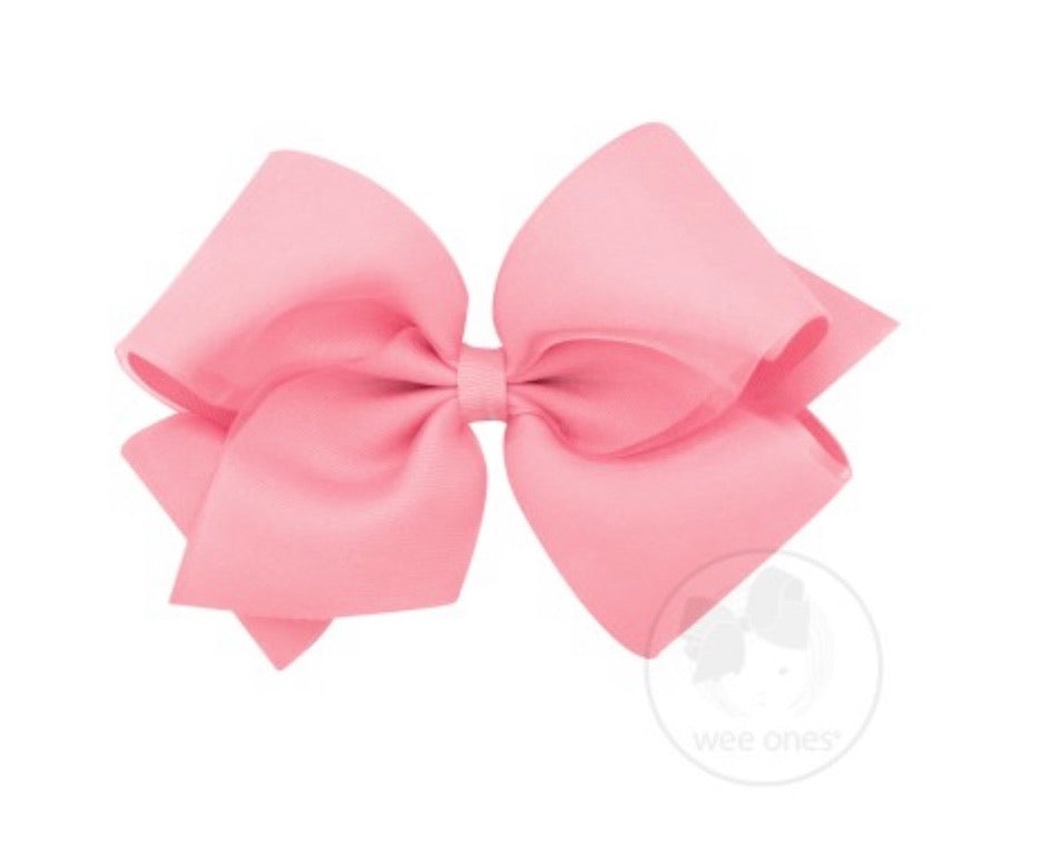 WeeOnes Light Pink Bow Accessory