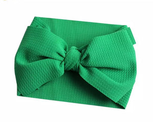Hunter Green Wrap Bow Accessory