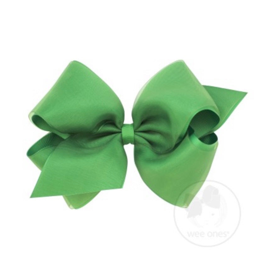 WeeOnes Green Bow Accessory