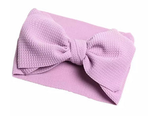 Lavendar Wrap Bow Accessory