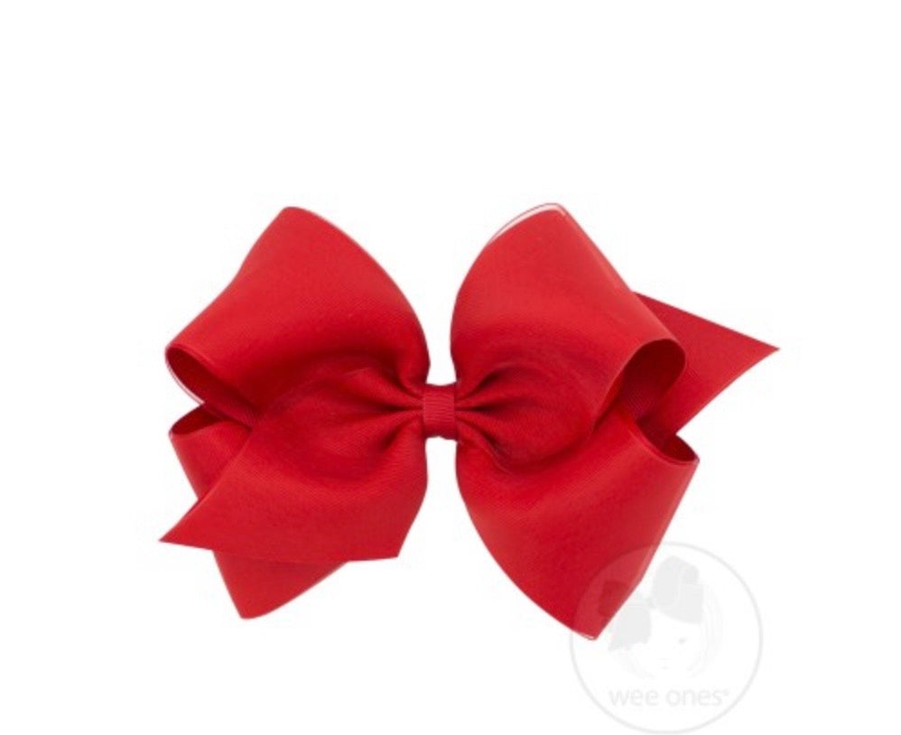 WeeOnes Red Bow Accessory