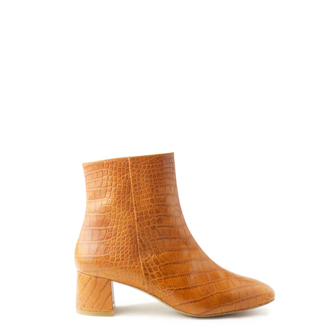 ANKLE BOOT, CHESTNUT