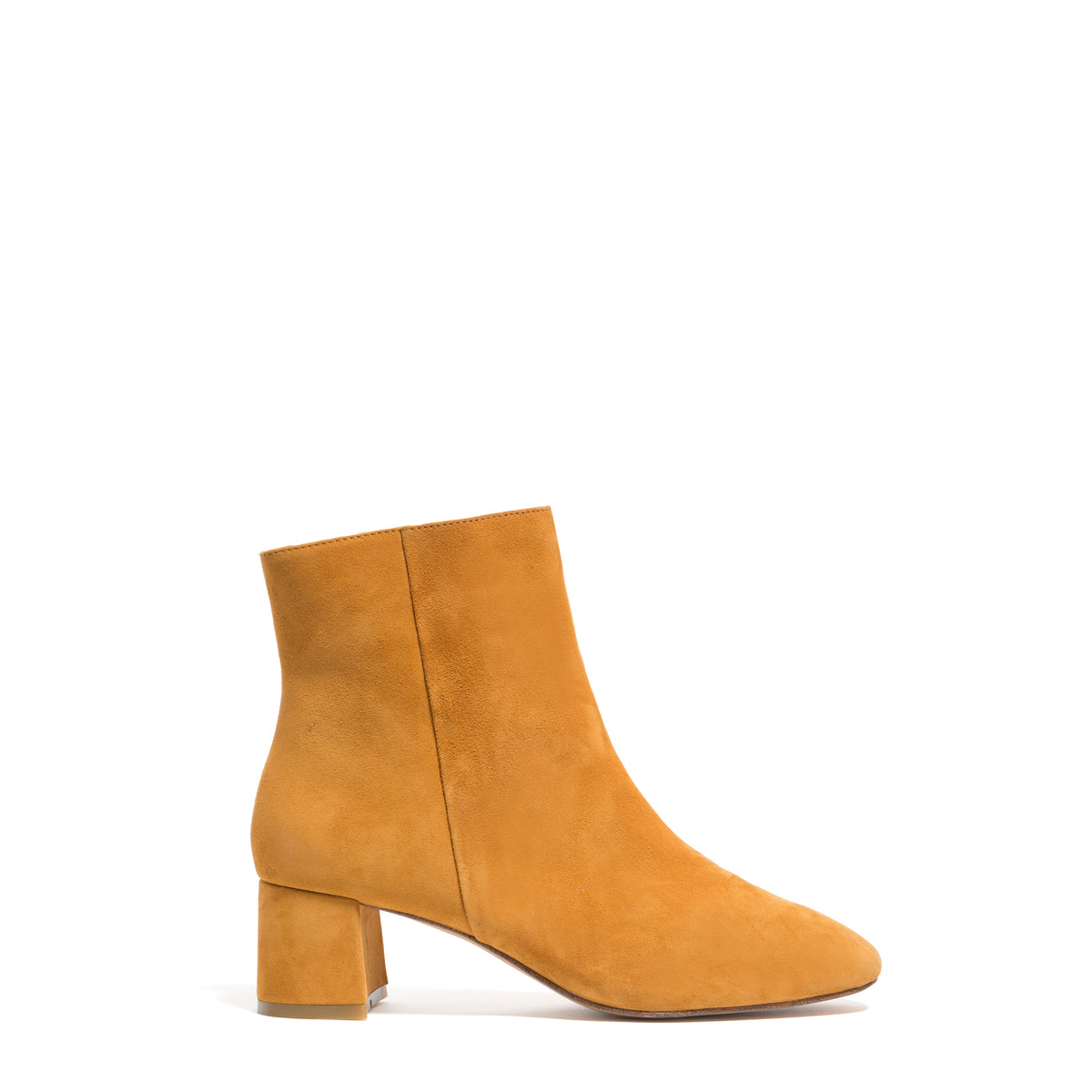 ANKLE BOOT, MUSTARD