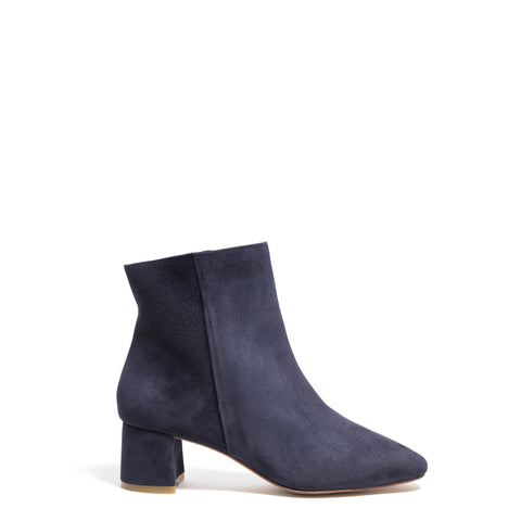 ANKLE BOOT, NAVY