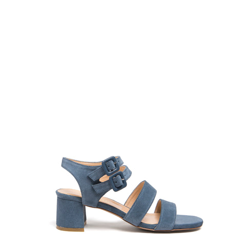 JARDIN HEEL, DENIM