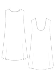 cotton dress sketch