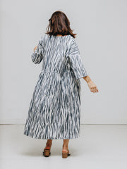 zebra print dress organic cotton