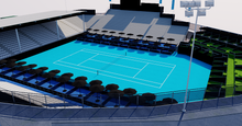 Load image into Gallery viewer, ASB Tennis Centre - Auckland New Zealand 3D model