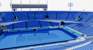 Abu Dhabi International Tennis Centre 3D model