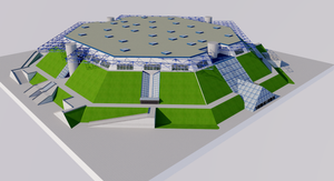 AccorHotels Arena - Paris 3D model
