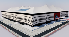 Load image into Gallery viewer, Al Bayt Stadium - Al Khor Qatar 3D model