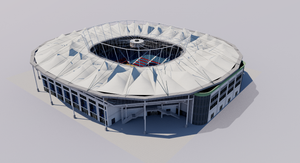 Am Rothenbaum - Hamburg 3D model