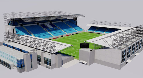 3D Models | 3D Stadiums | Virtual Reality Games | Genius&Gerry