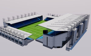 Arena Khimki - Moscow 3D model
