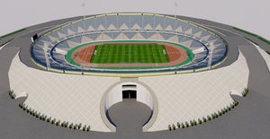 Azadi Stadium - Iran 3D model