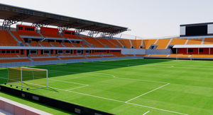BBVA Compass Stadium - Houston 3D model