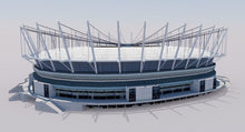 Load image into Gallery viewer, BC Place - Vancouver - Canada 3D model
