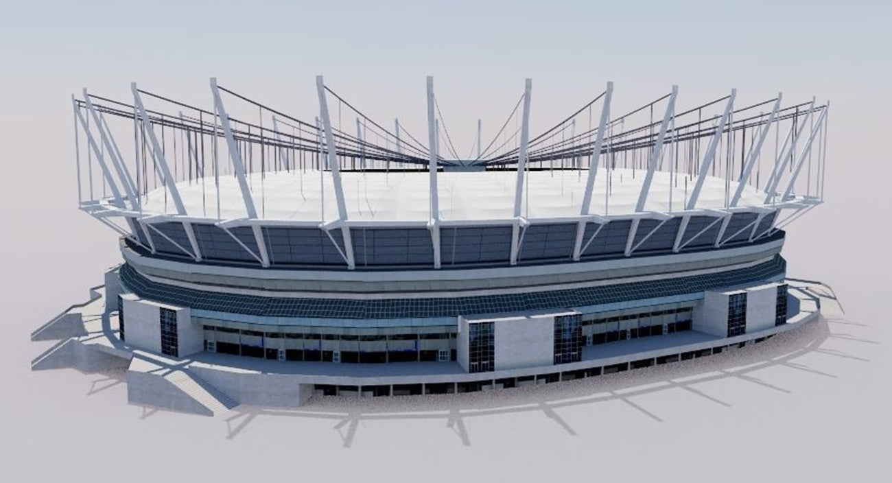 BC Place - Vancouver - Canada 3D model