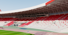 Load image into Gallery viewer, Bahrain National Stadium 3D model