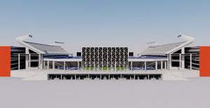 Orlando Citrus Bowl - Camping World Stadium  3D model