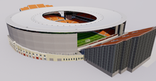Load image into Gallery viewer, Central Stadium Yekaterinburg - Russia 3D model