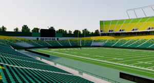 Commonwealth Stadium - Edmonton Canada 3D model